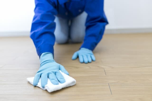洗い物のときはゴム手袋着用!